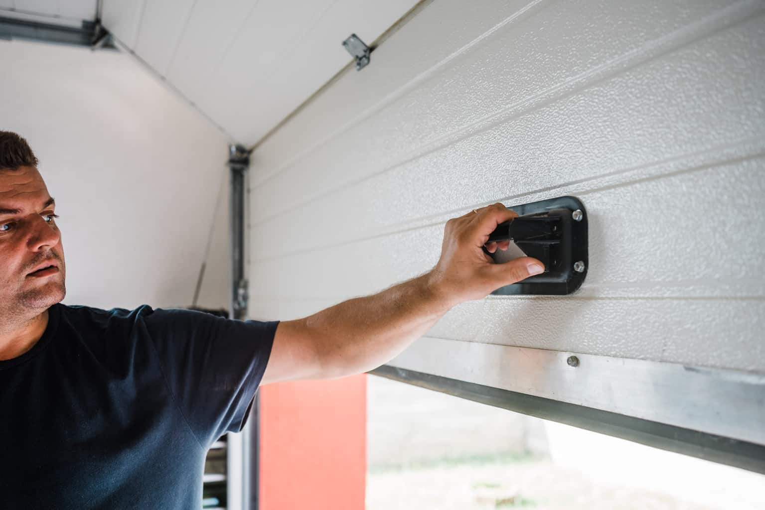 How To Open Garage Door Manually From Outside With Key how to open my garage door during power outage - all right
